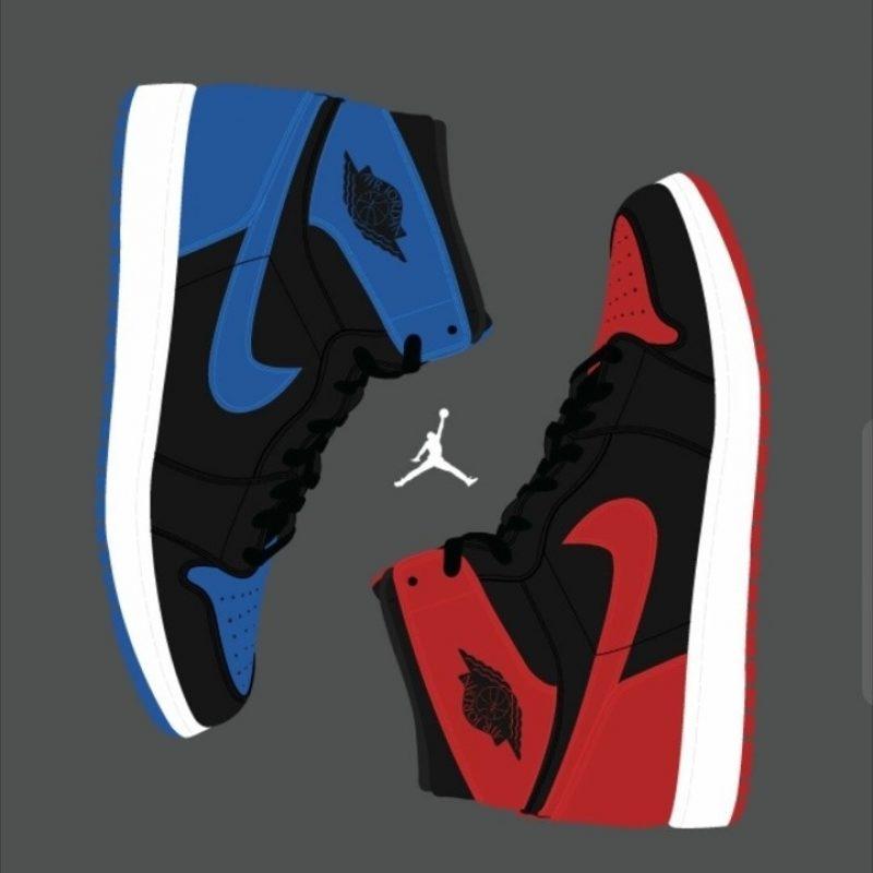 10 Top Air Jordan 1 Wallpaper FULL HD 1920×1080 For PC Background 2018 free download jordan 1 club royal x banned iphone f09f93b1 wallpaper 800x800