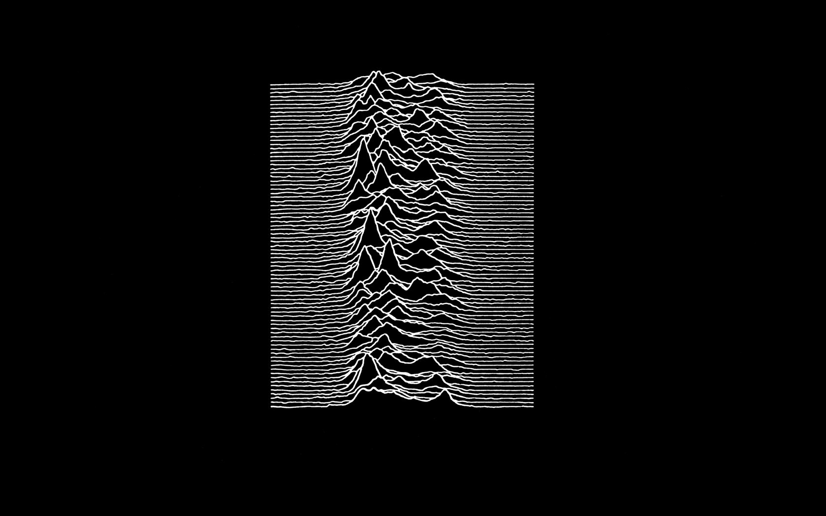 joy division unknown pleasures wallpaper | 1680x1050 | 61043