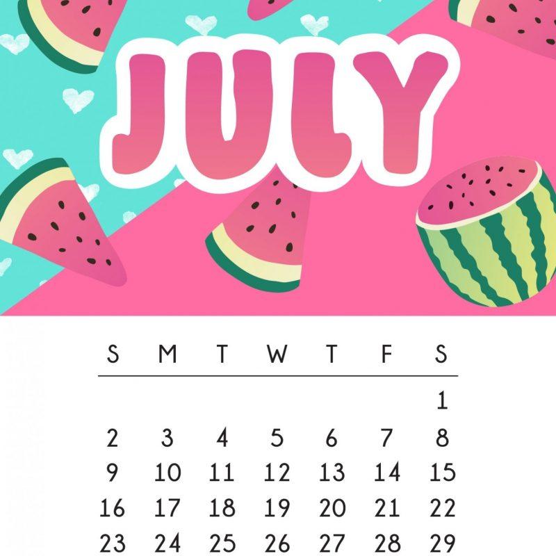 10 Best July 2017 Calendar Wallpaper FULL HD 1920×1080 For PC Desktop 2021 free download july 2017 calendar tech pretties dawn nicole designs 1 800x800