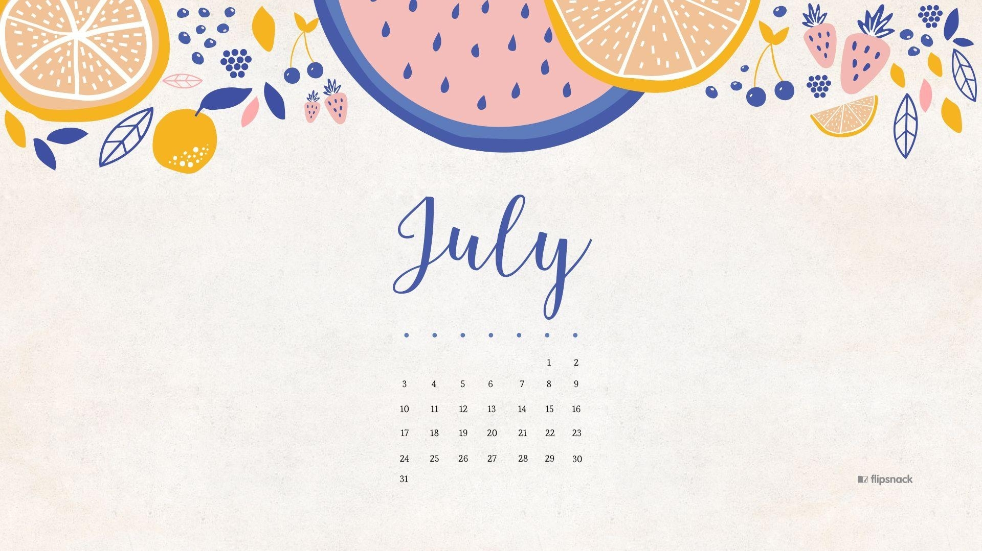 july 2017 calendar wallpapers - wallpaper cave