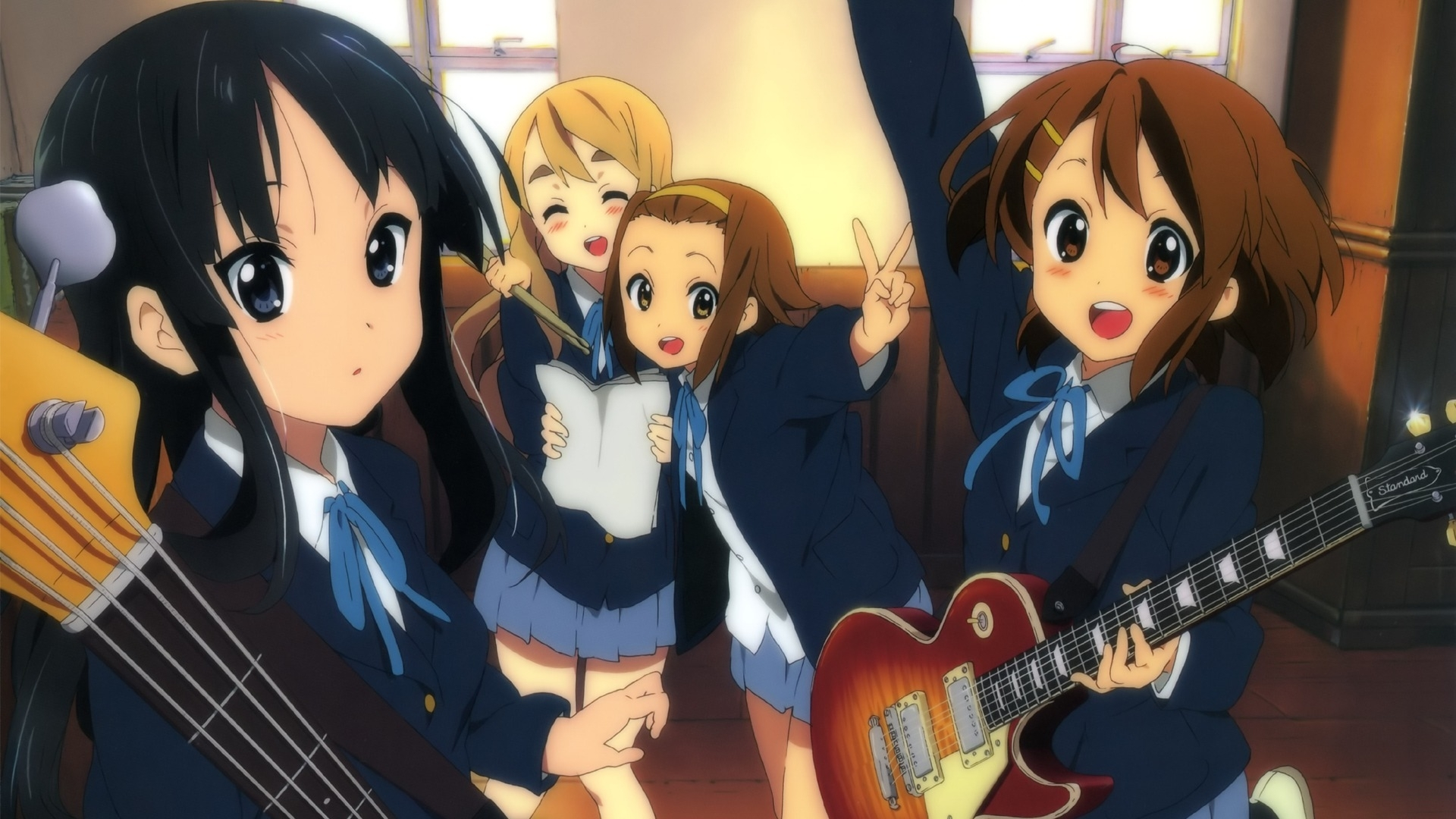 k-on! full hd wallpaper and background image | 1920x1080 | id:392325