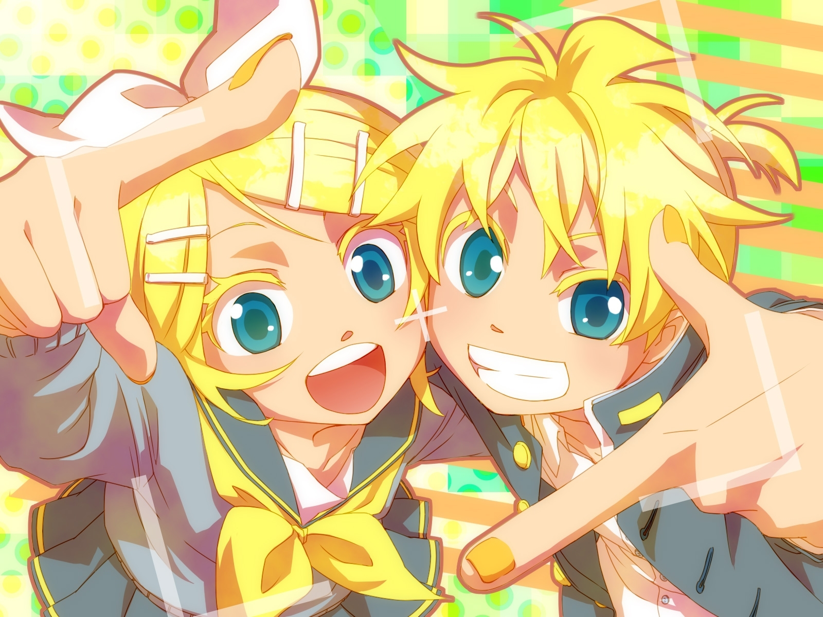 kagamine mirrors - vocaloid - wallpaper #73965 - zerochan anime