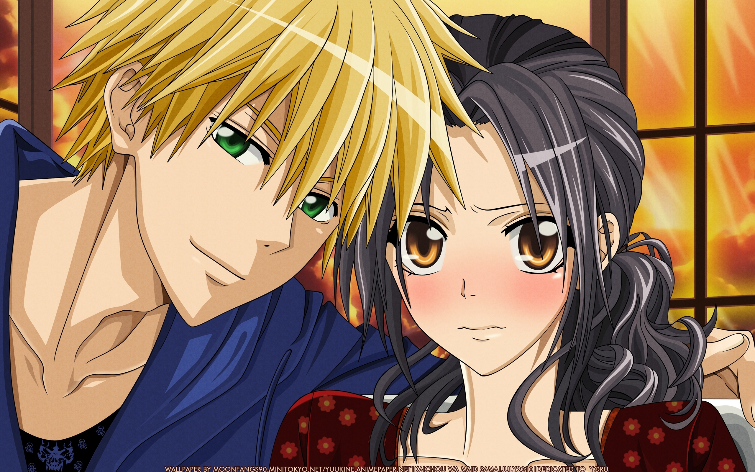 kaichou wa maid-sama!, wallpaper - zerochan anime image board