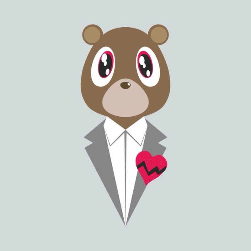 10 Most Popular Kanye West Bear Drawing FULL HD 1920×1080 For PC Desktop 2018 free download kanye bear art design pinterest tattoo dope wallpapers and 800x800