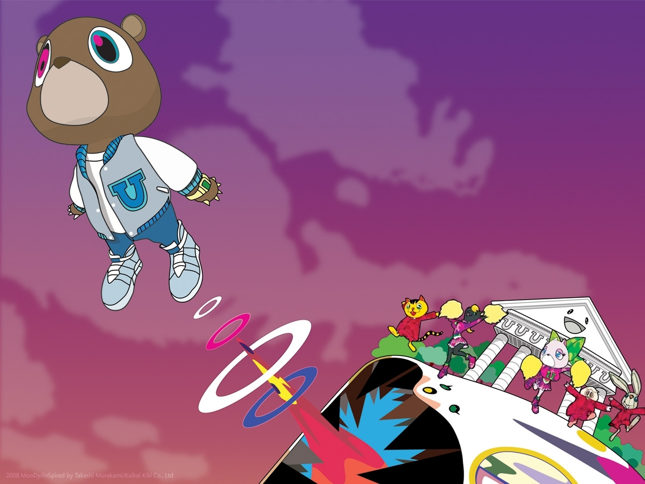 kanye west bear wallpaper desktop background ~ sdeerwallpaper | 1
