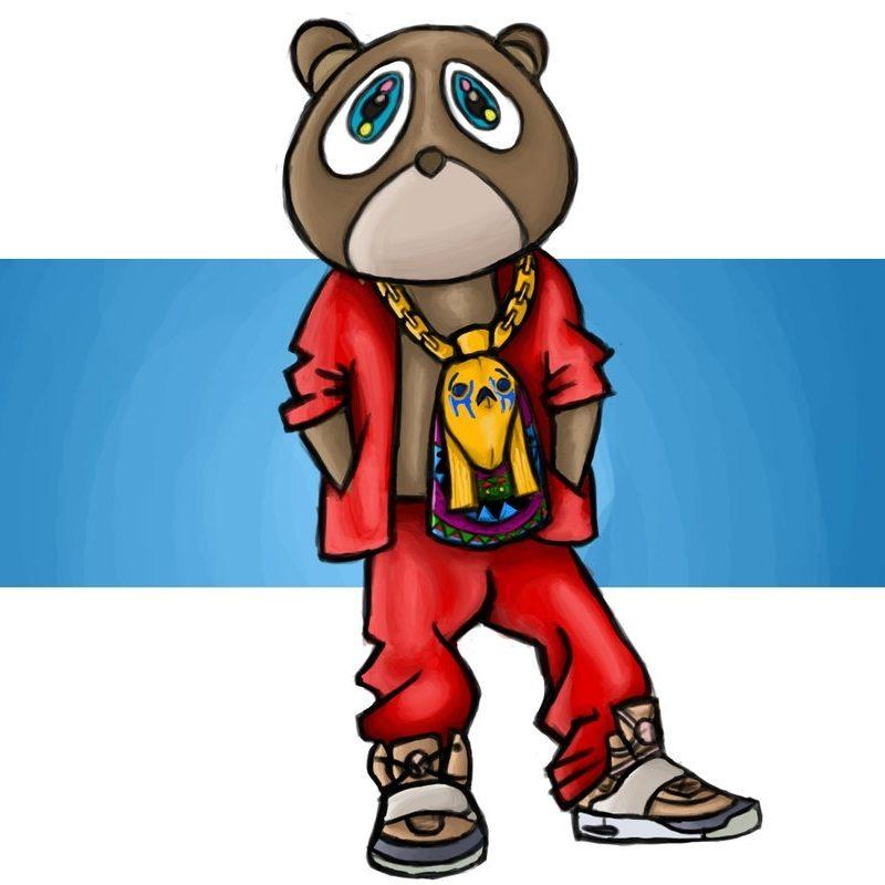 10 Most Popular Kanye West Bear Drawing FULL HD 1920×1080 For PC Desktop 2021 free download kanye west bearkarate1990 on deviantart 800x800