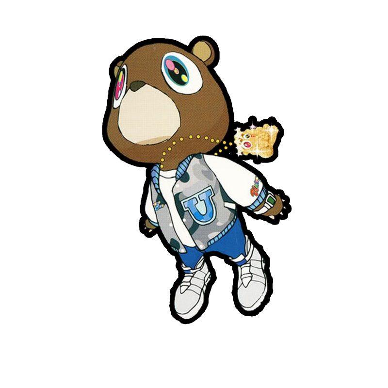 10 Most Popular Kanye West Bear Drawing FULL HD 1920×1080 For PC Desktop 2021 free download kanye west graduation bear inked skin pinterest kanye west 800x800