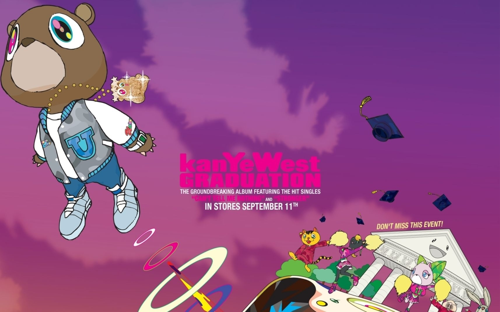 kanye west graduation wallpaper | kanye west | pinterest