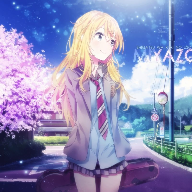 10 Most Popular Your Lie In April Kaori Wallpaper FULL HD 1080p For PC Background 2020 free download kaori miyazono full hd fond decran and arriere plan 1920x1080 800x800