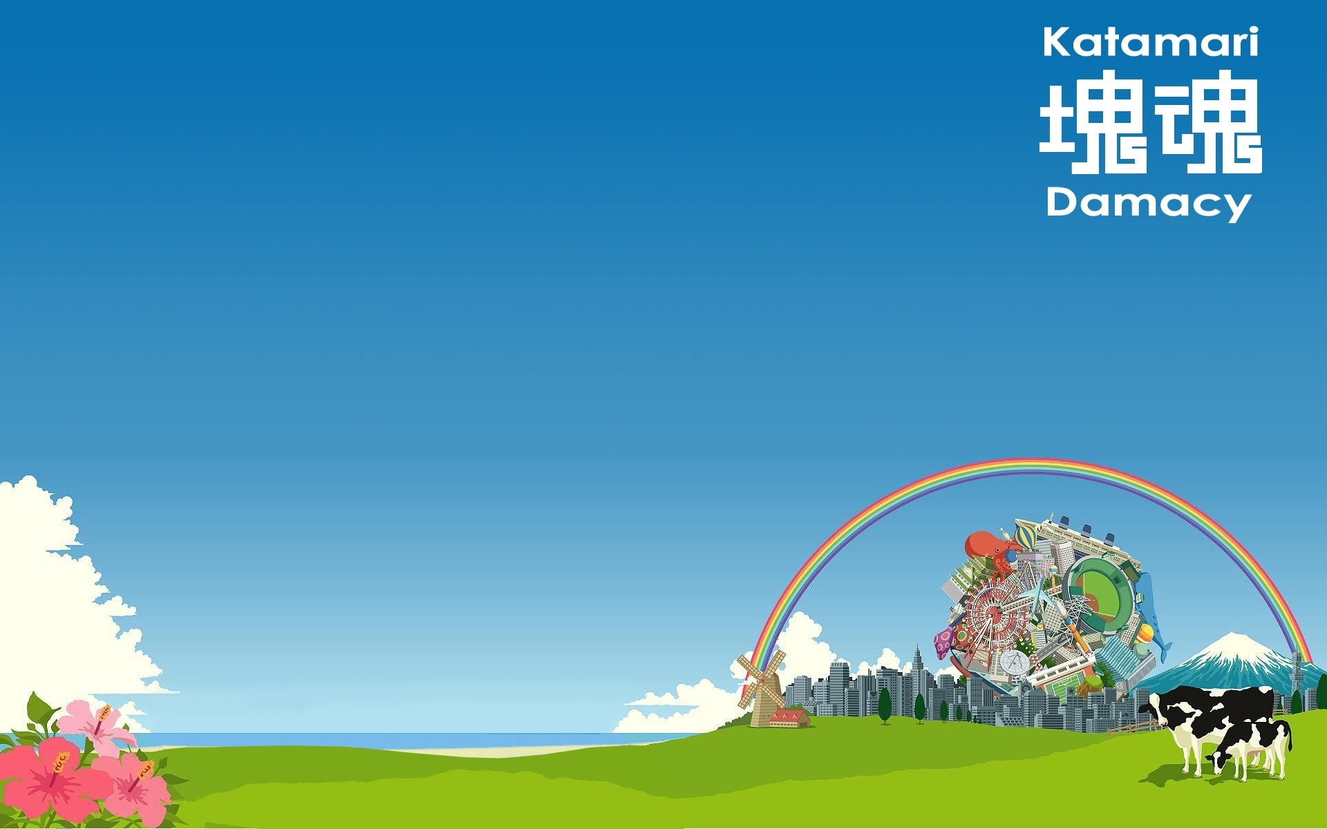 katamari damacy full hd wallpaper and background image | 1920x1200