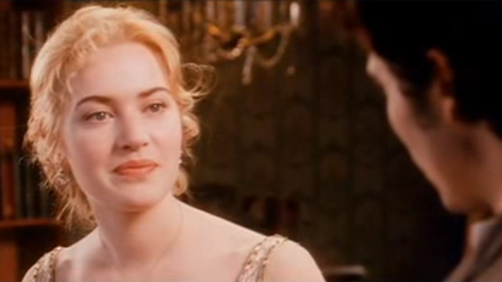 kate winslet's screen test for 'titanic' is magic. but who plays