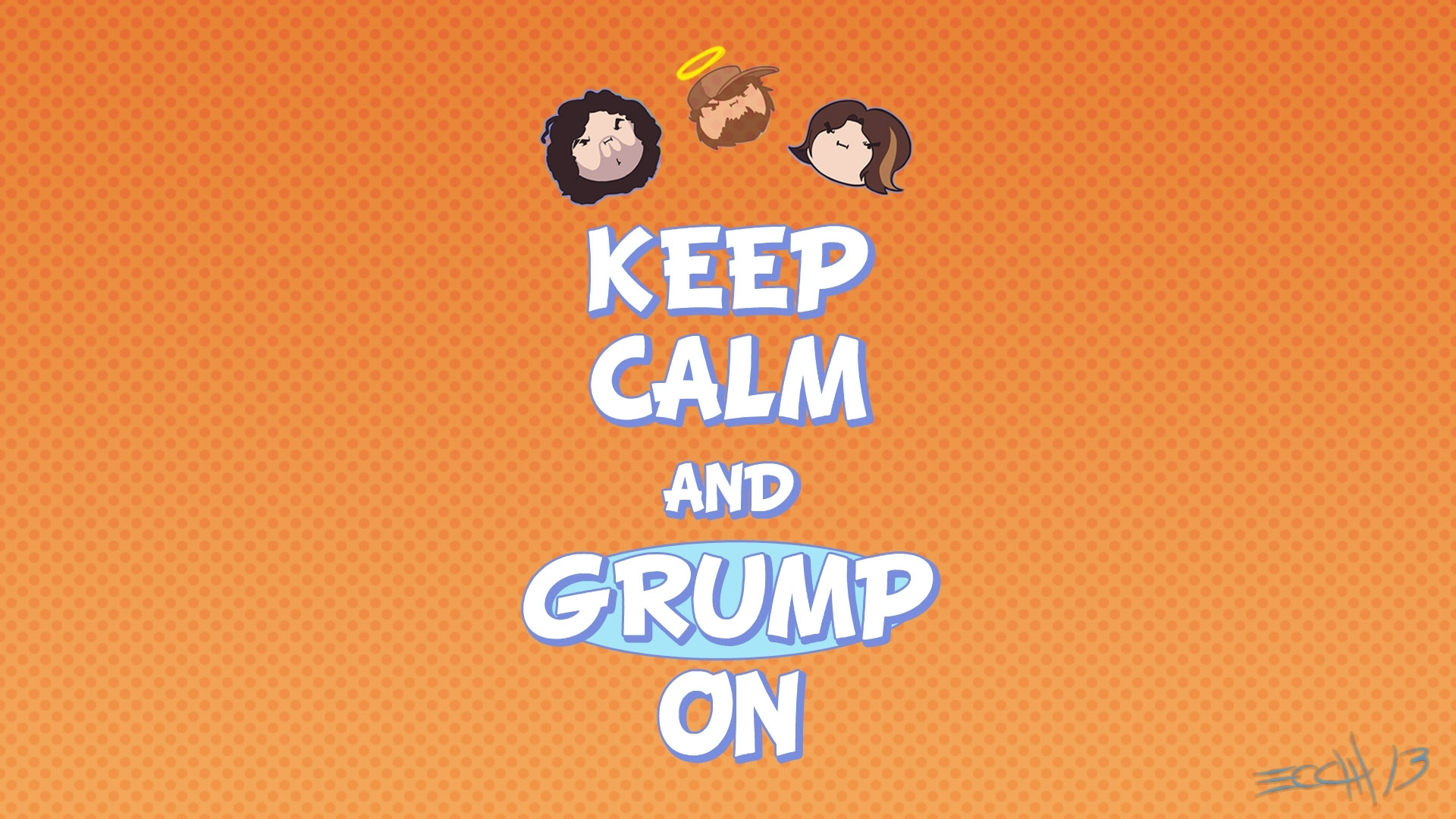 keep calm and grump on   game grumps   know your meme