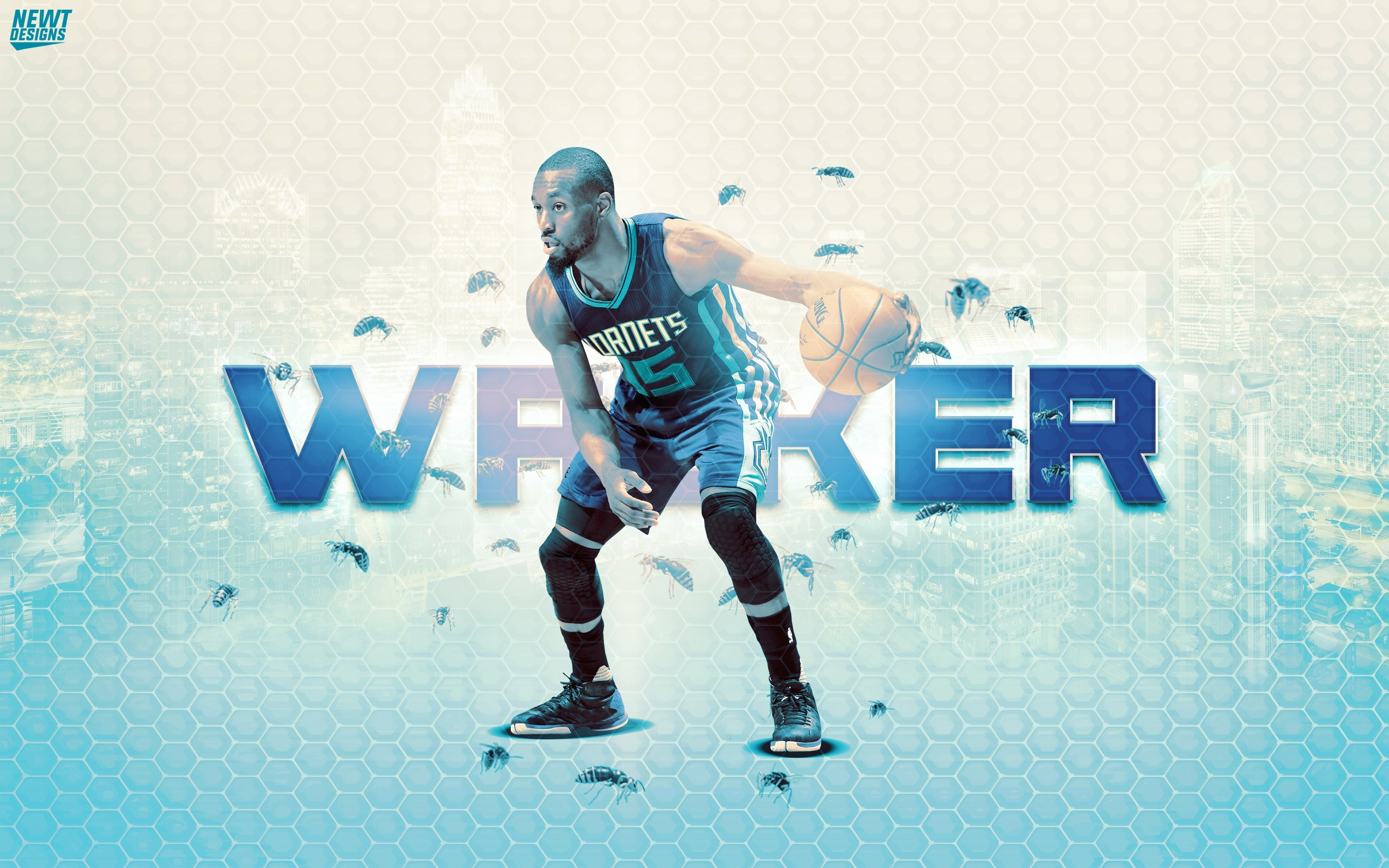 kemba walker hornets 2016 wallpaper | basketball wallpapers at