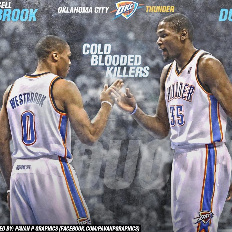 10 Best Russell Westbrook And Kevin Durant Wallpaper FULL HD 1920×1080 For PC Desktop 2020 free download kevin durant and russell westbrook 2015 wallpapers wallpaper cave 1 800x800