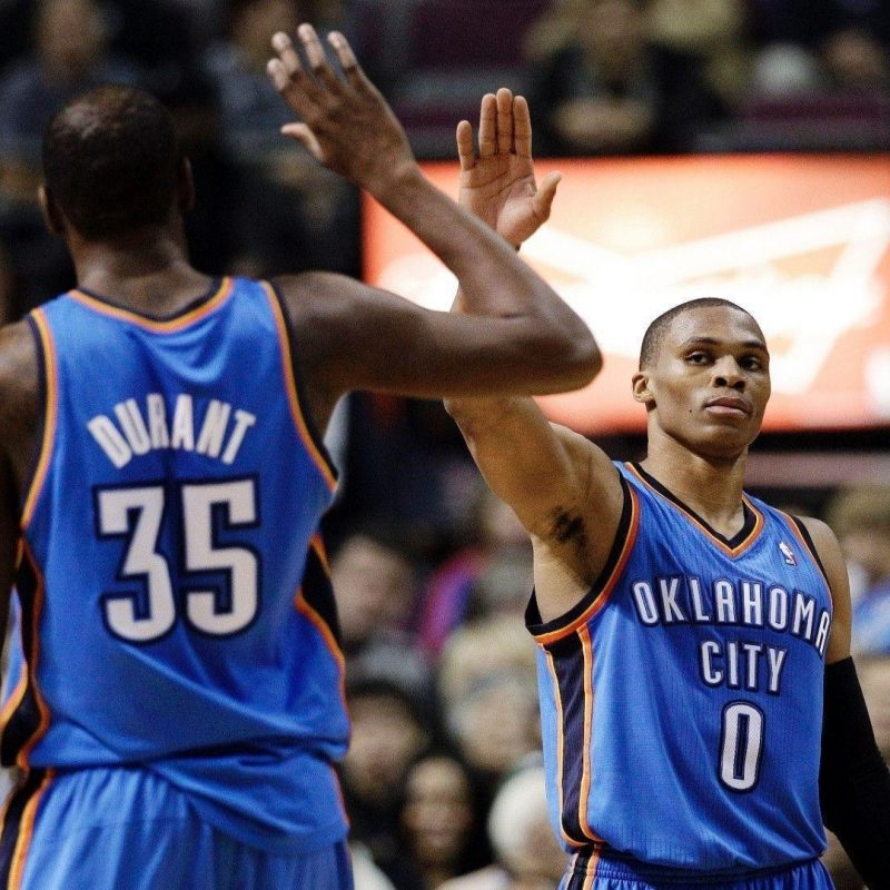 10 Best Russell Westbrook And Kevin Durant Wallpaper FULL HD 1920×1080 For PC Desktop