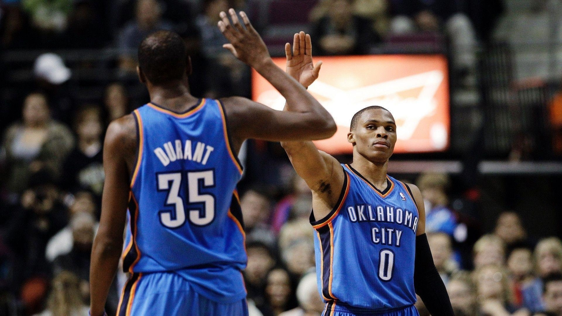 kevin durant and russell westbrook 2015 wallpapers - wallpaper cave