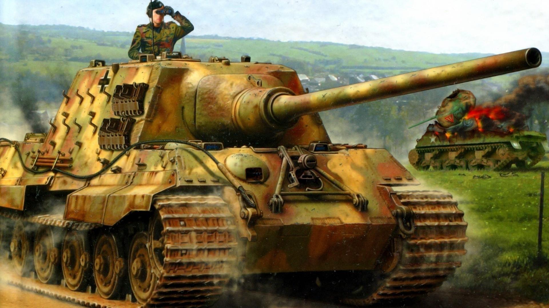 king tiger tank wallpaper (74+ images)