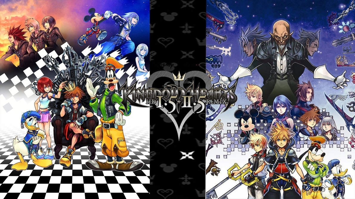 kingdom hearts 1.5 + 2.5 hd remix wallpaperthe-dark-mamba-995 on