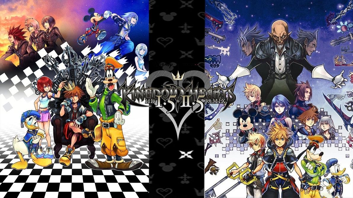 kingdom hearts 1.5 + 2.5 hd remix wallpaperthe-dark-mamba-995 on