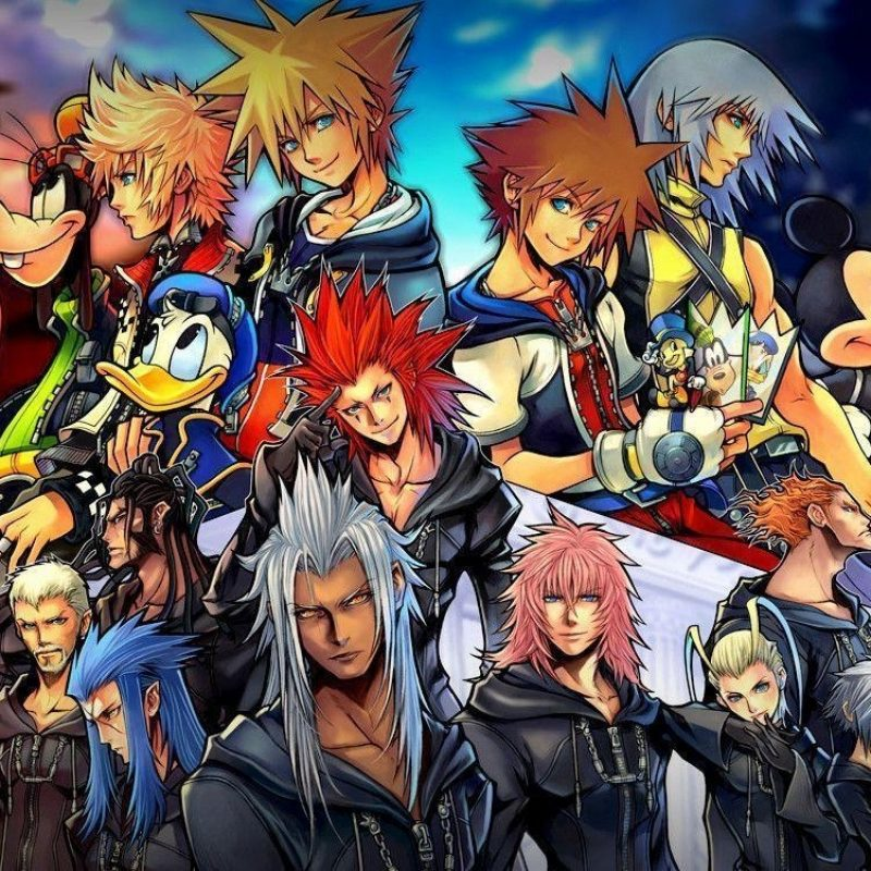 10 Latest Kingdom Hearts 2 Wallpaper FULL HD 1080p For PC Background 2018 free download kingdom hearts 2 final mix wallpapers wallpaper cave 800x800