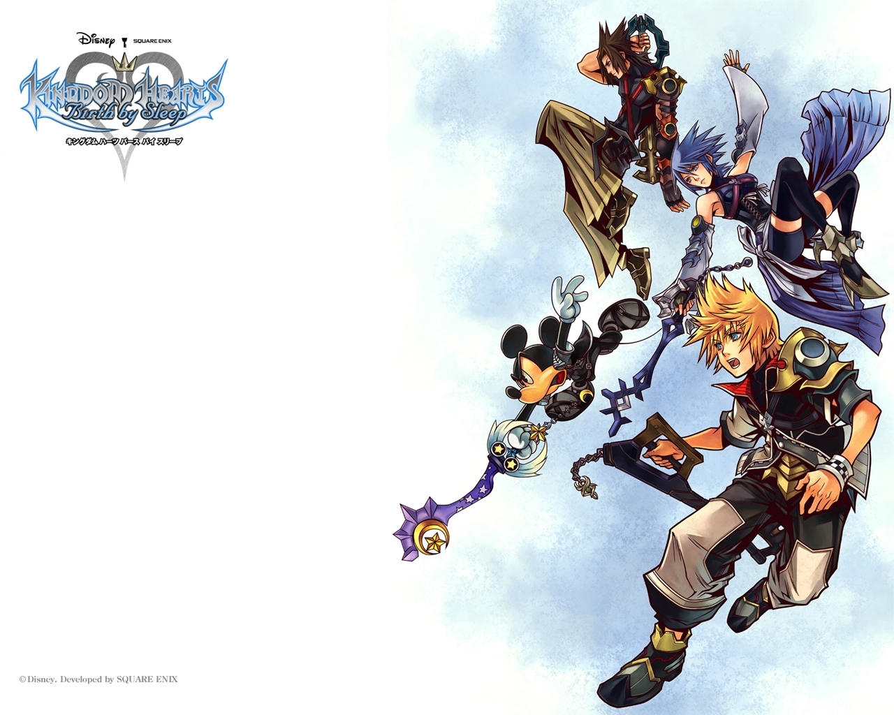 kingdom hearts: birthsleep wallpaper #212914 - zerochan anime