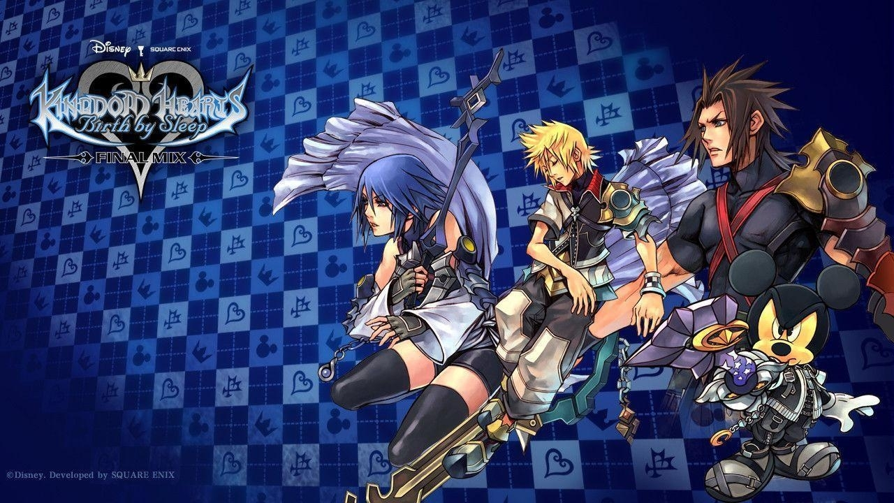 kingdom hearts birthsleep wallpapers - wallpaper cave