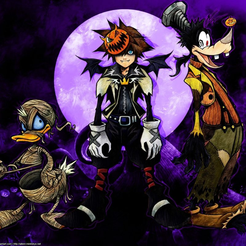 10 Top Kingdom Hearts Halloween Wallpaper FULL HD 1080p For PC Background 2018 free download kingdom hearts disney halloween wallpaper 1920x1200 48762 800x800