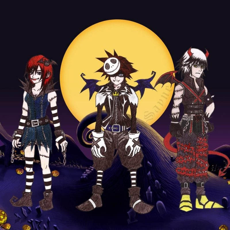 10 Top Kingdom Hearts Halloween Wallpaper FULL HD 1080p For PC Background 2018 free download kingdom hearts halloweensayne7 on deviantart 800x800