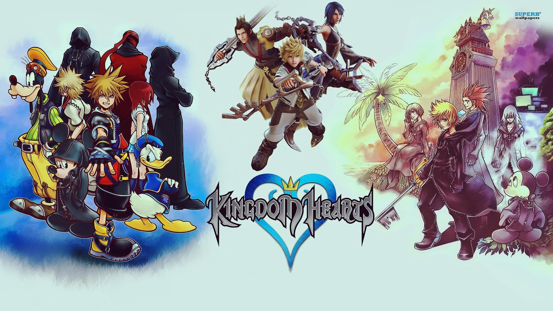 kingdom hearts hd 1.5 remix full hd fond d'écran and arrière-plan