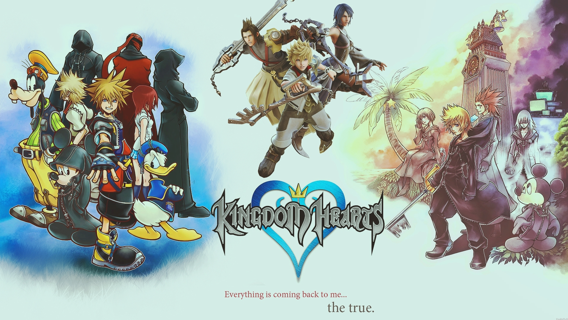 10 New Kingdom Hearts Background Hd FULL HD 1080p For PC