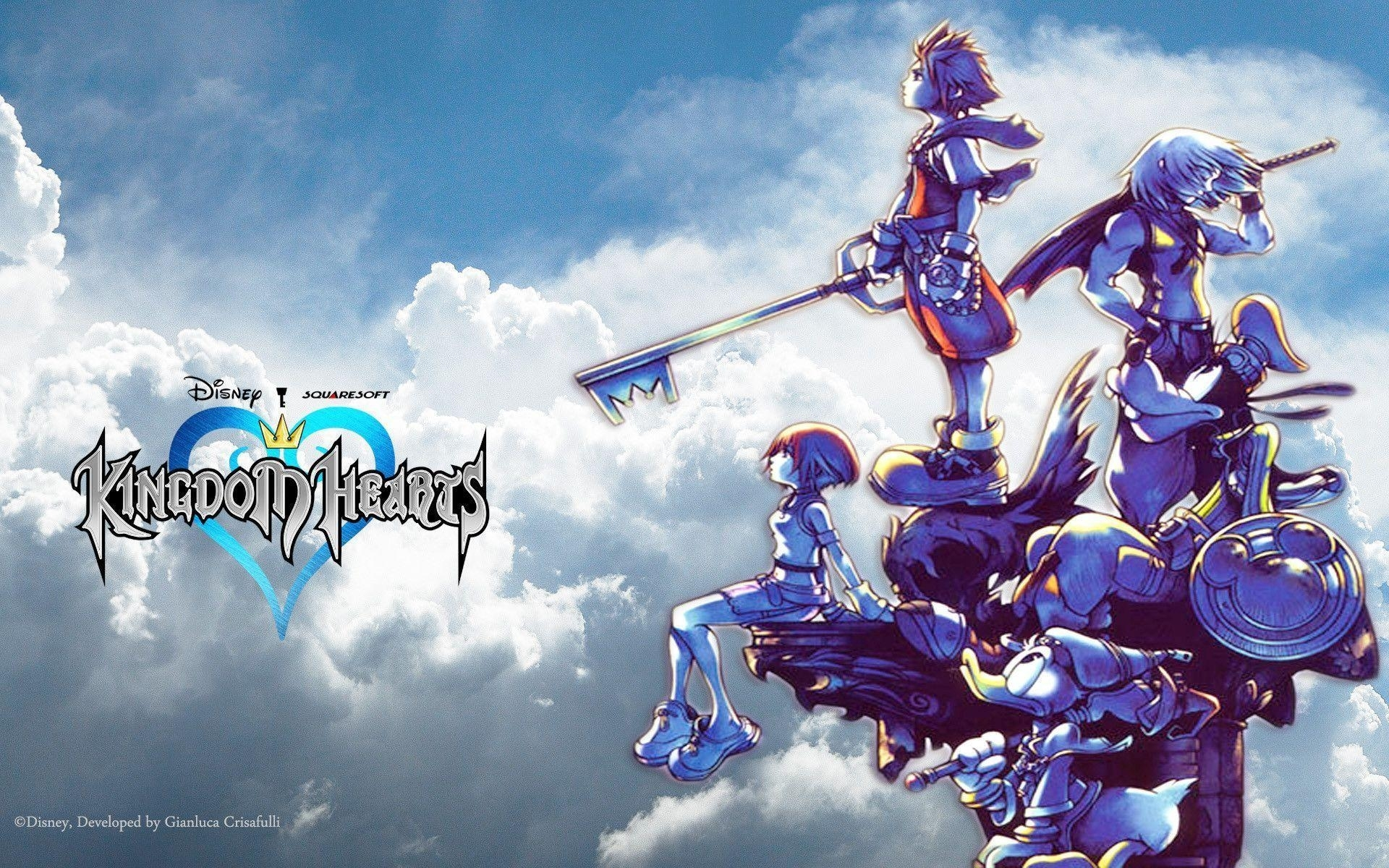 kingdom hearts hd wallpapers - wallpaper cave
