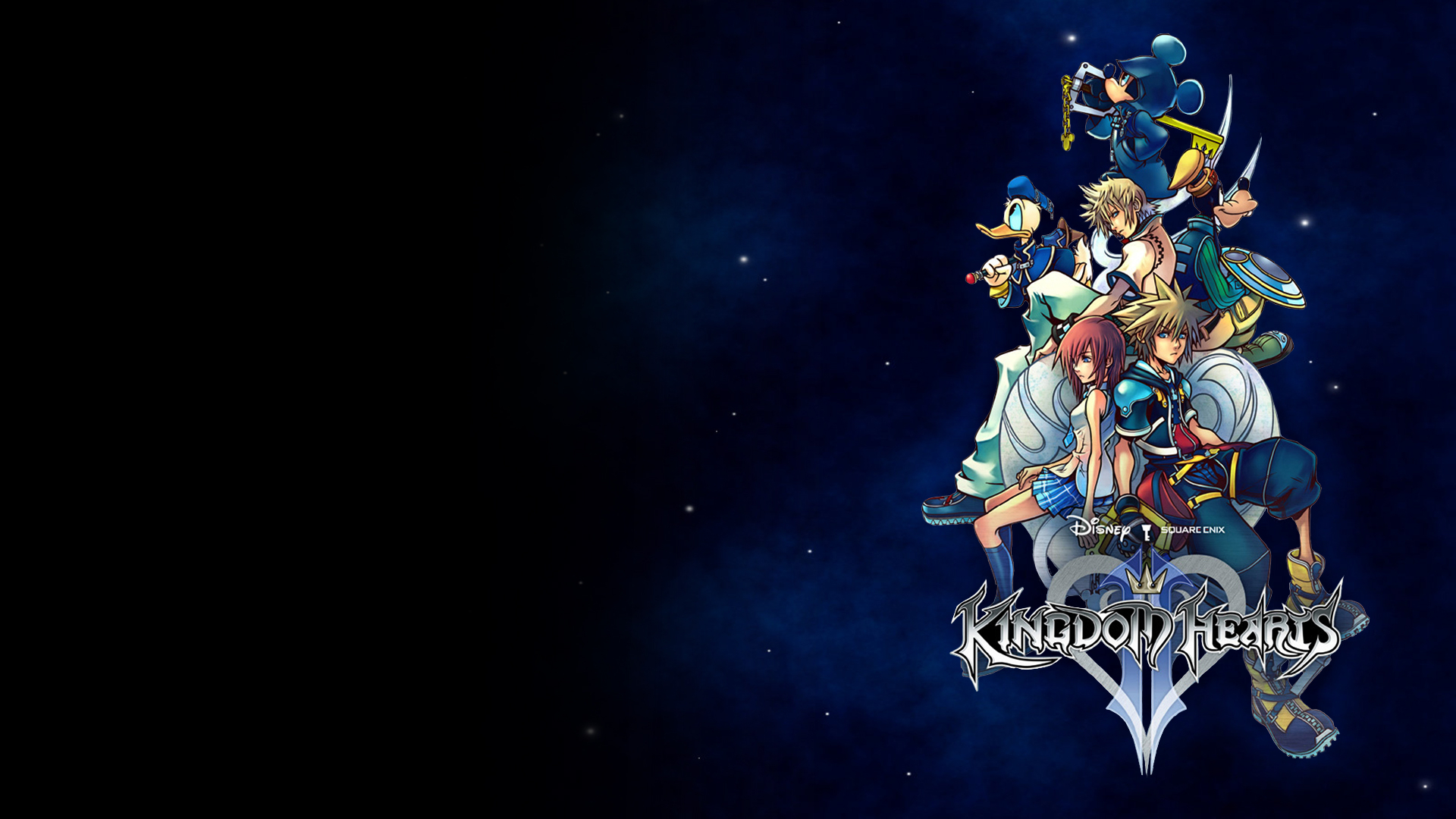 kingdom hearts ii wallpaper hd wallpaper | background image