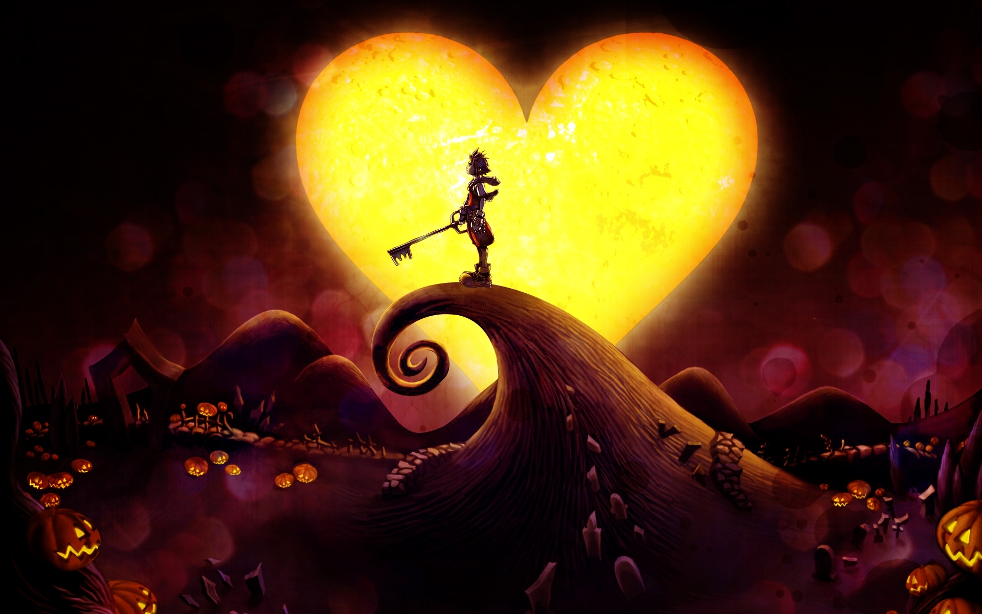 kingdom hearts wallpaper #1449600 - zerochan anime image board