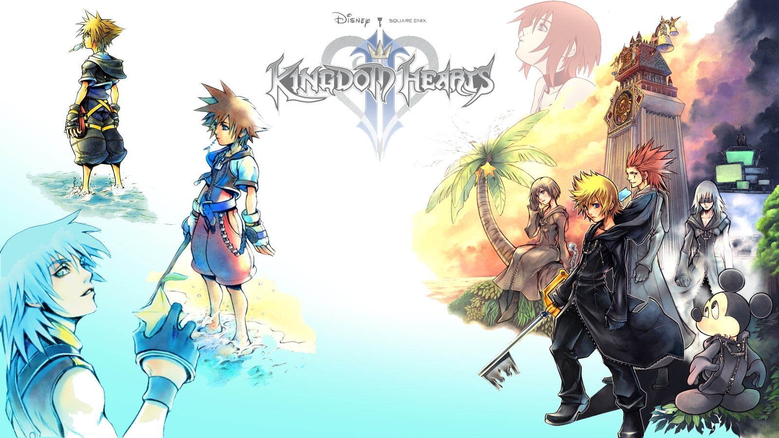 kingdom hearts wallpaper and background image | 1600x900 | id:75968