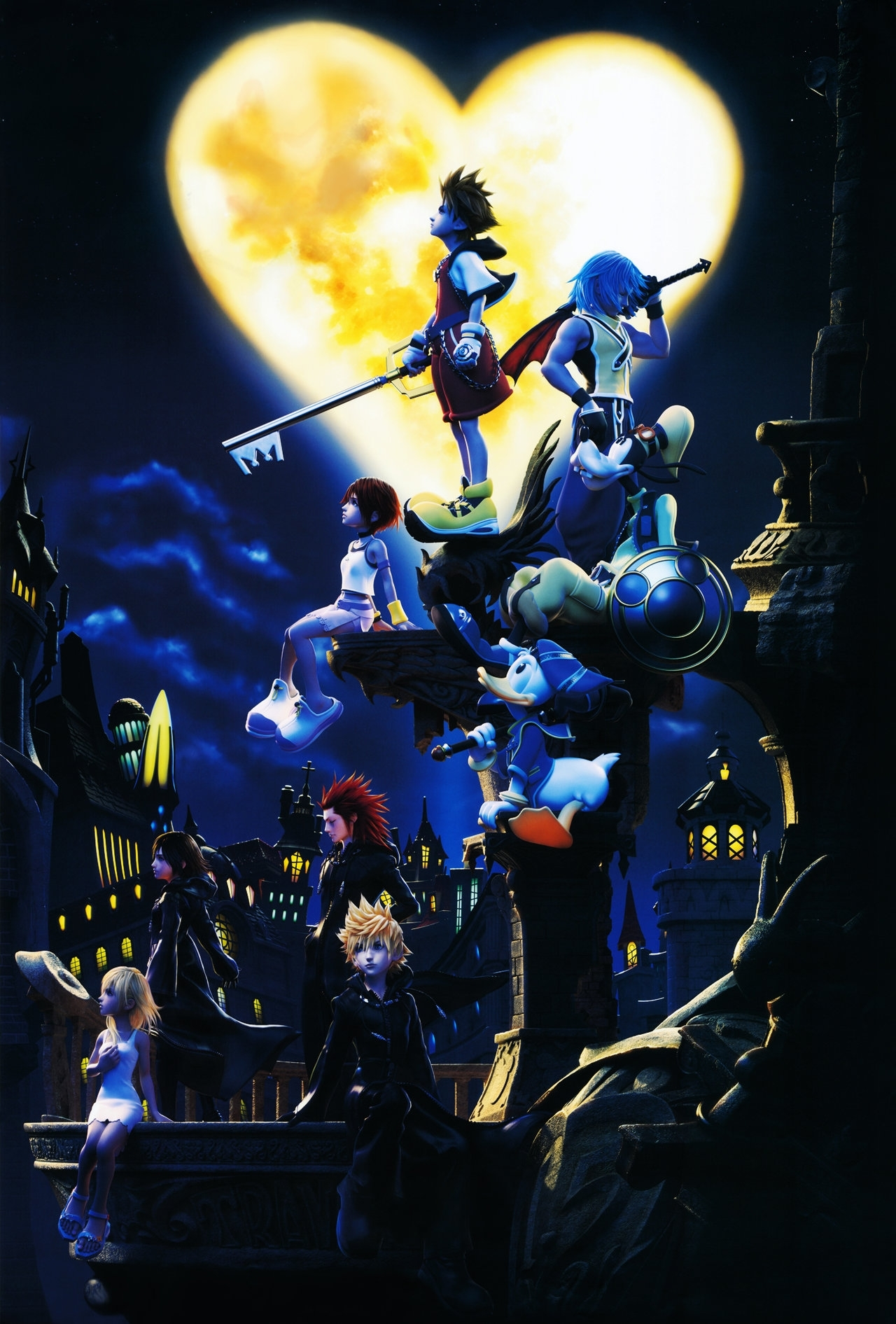 kingdom hearts wallpapers hd - wallpaper cave | beautiful wallpapers