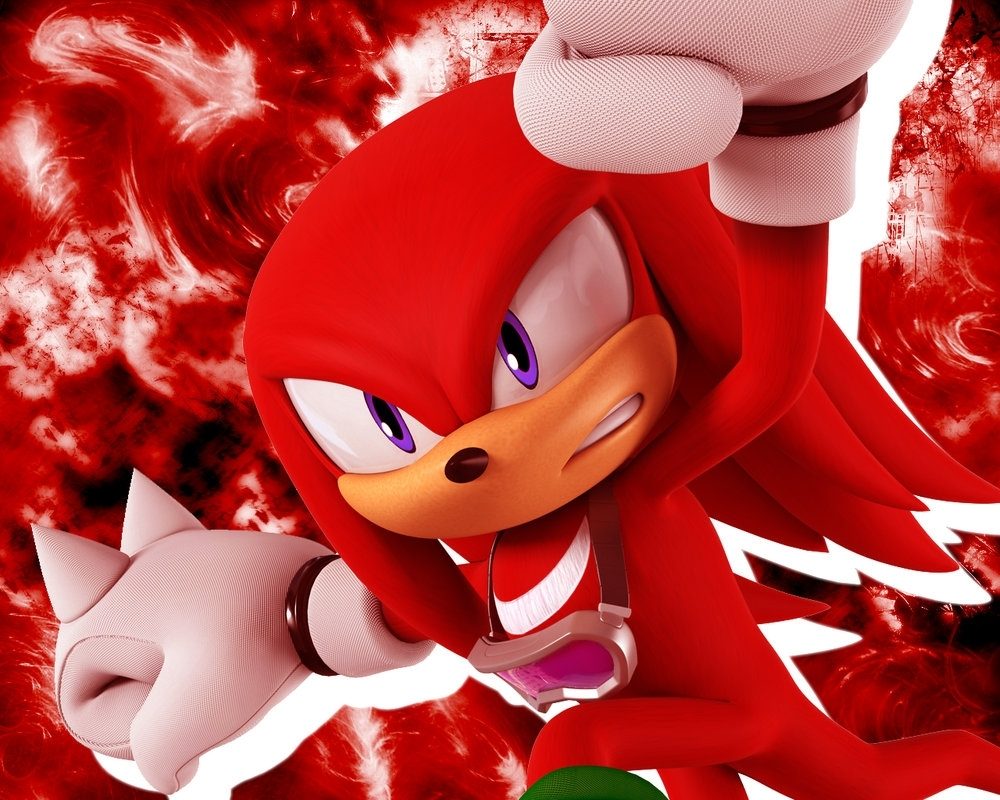 knuckles wallpaper 2nonamepje on deviantart