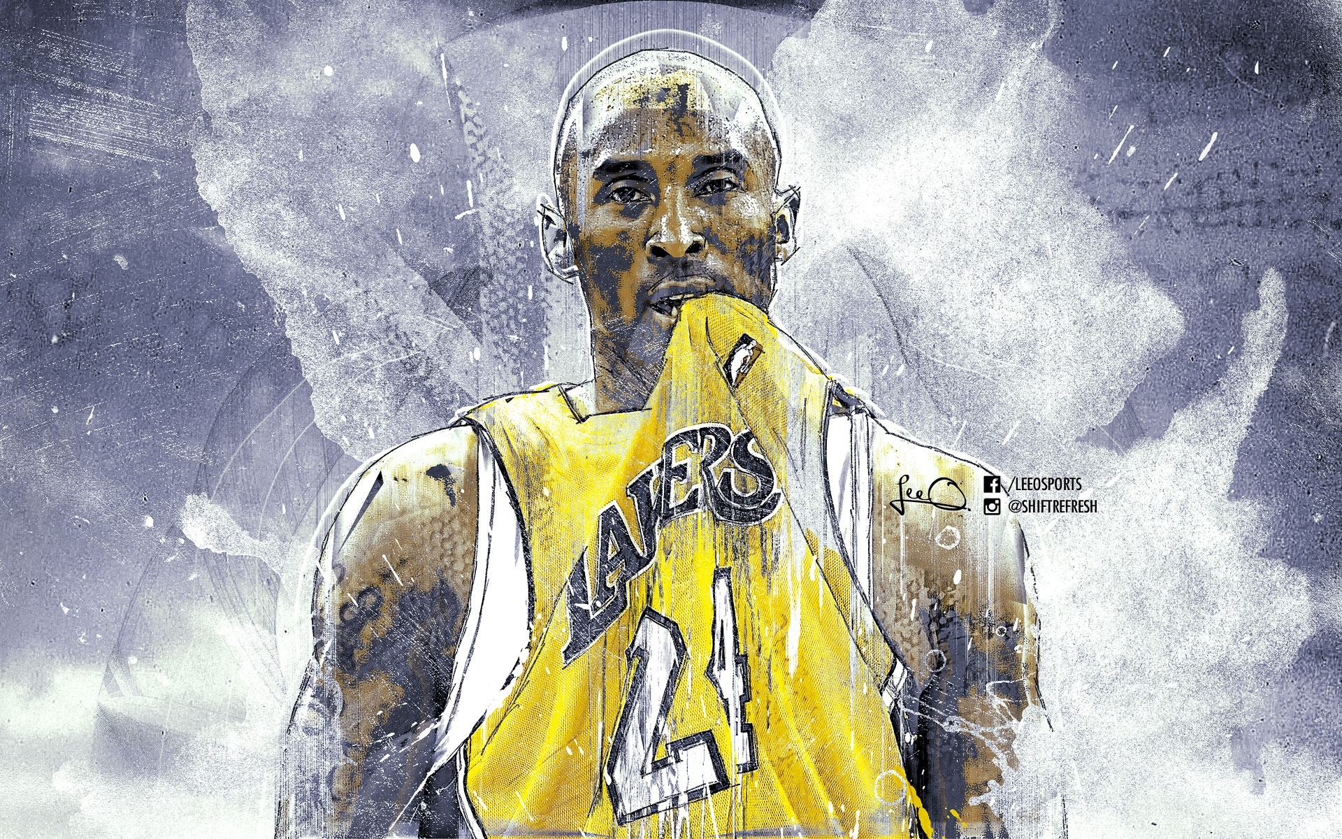 kobe bryant black mamba wallpaper for iphone ~ desktop wallpaper box