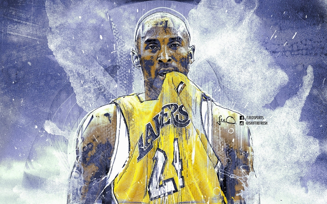 kobe bryant grunge nba wallpaperskythlee on deviantart