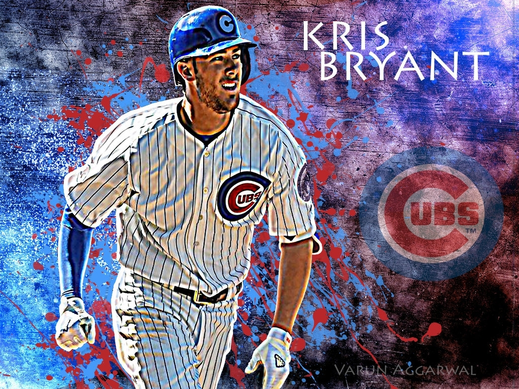 kris bryant edit wallpapervarunagg63 on deviantart