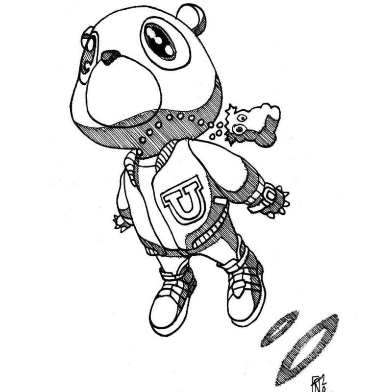 10 Most Popular Kanye West Bear Drawing FULL HD 1920×1080 For PC Desktop 2021 free download kwills 800x800