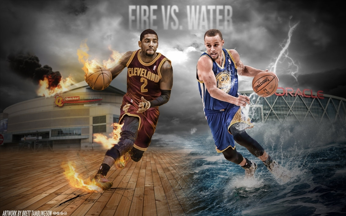 kyrie irving and stephen curry | wallpaperbtamdesigns on deviantart