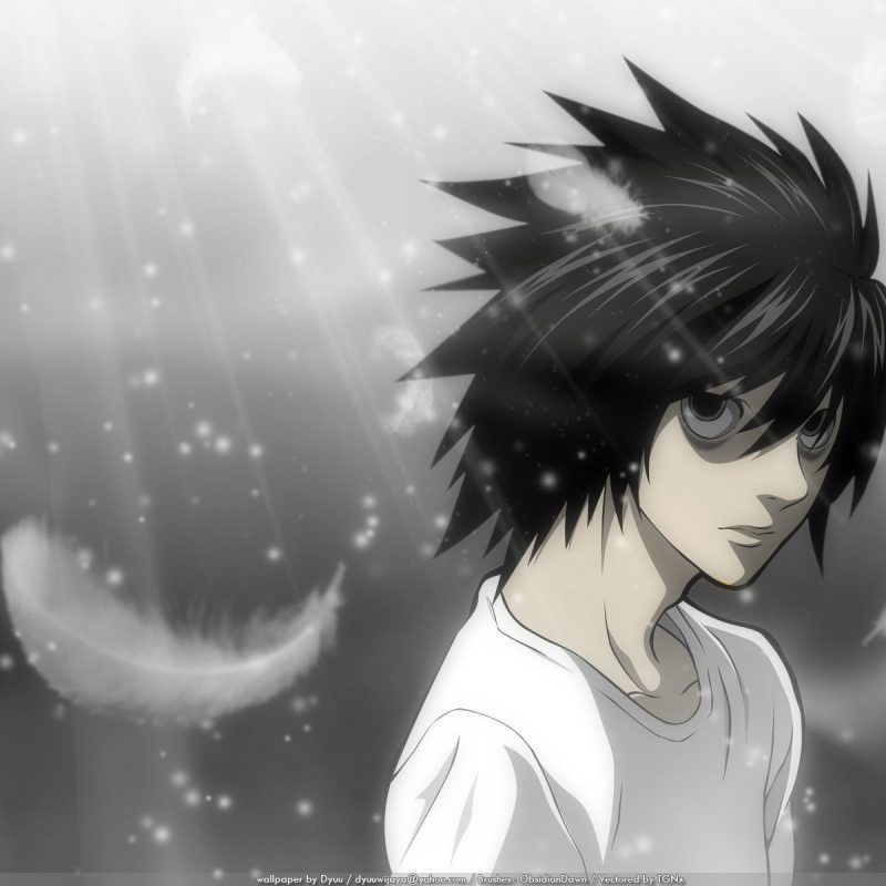 10 Best Death Note Wallpaper L FULL HD 1080p For PC Background 2020 free download l death note wallpaper death note pinterest 800x800