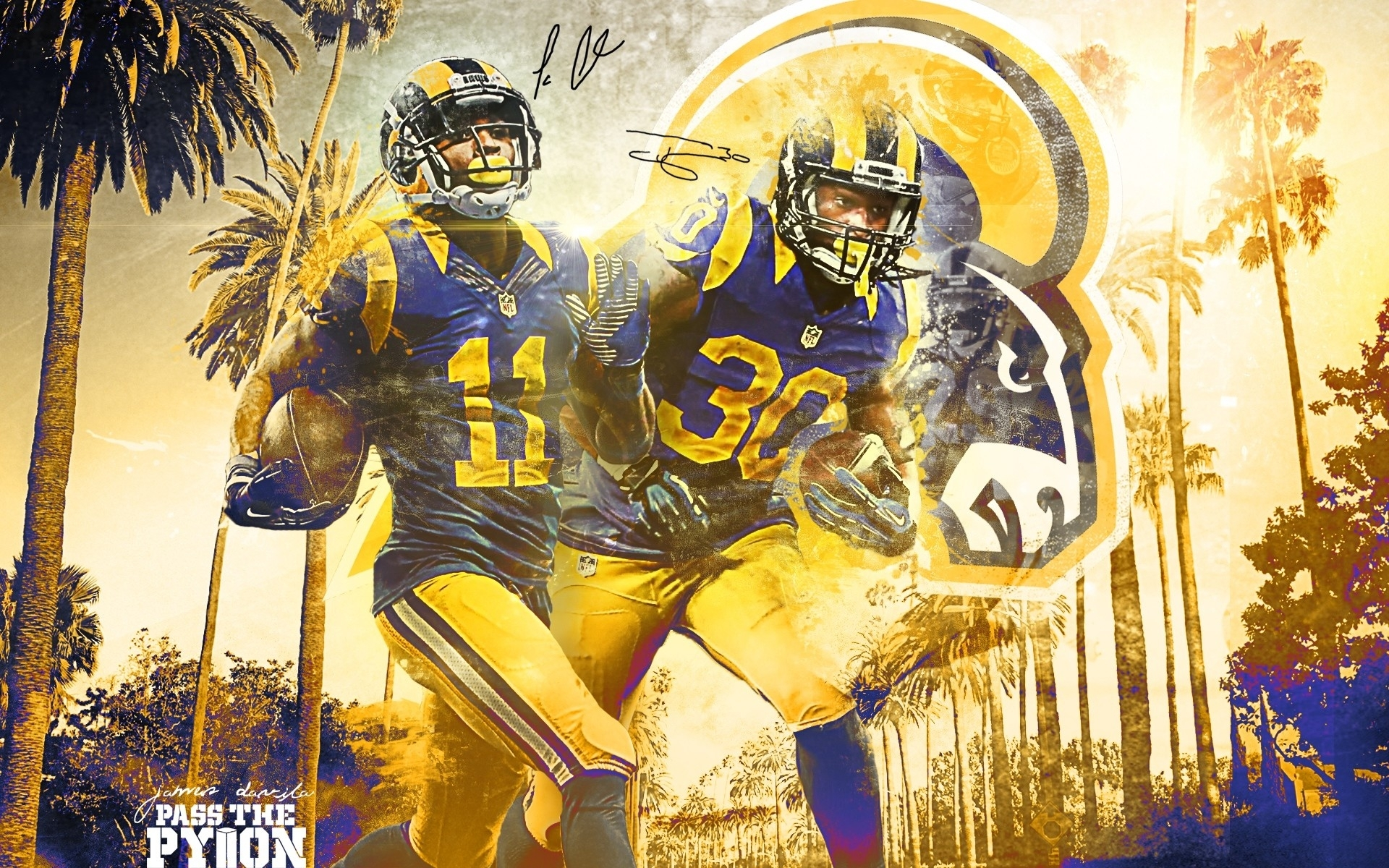la rams wallpapers (80+ images)
