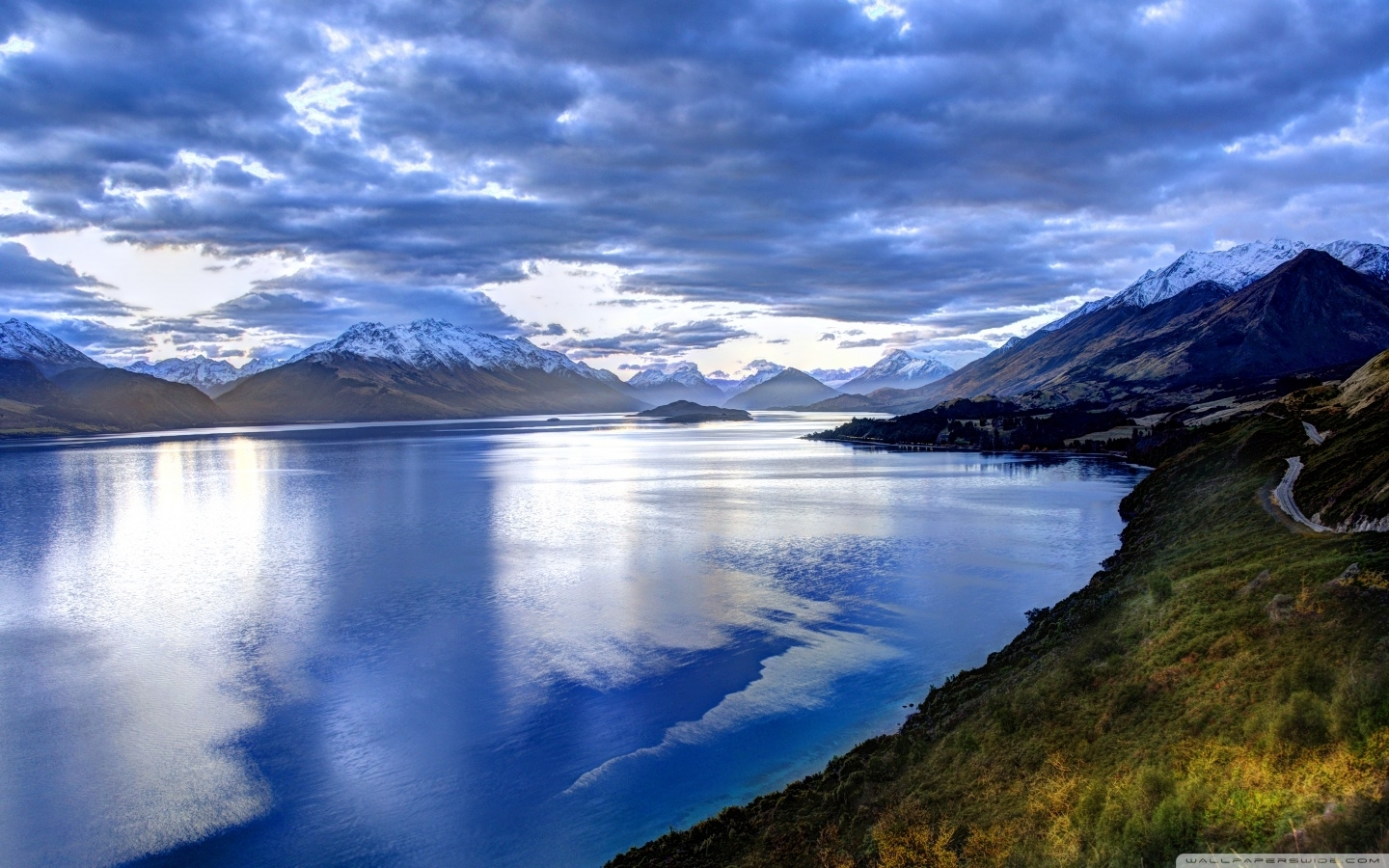 lake in new zealand ❤ 4k hd desktop wallpaper for 4k ultra hd tv