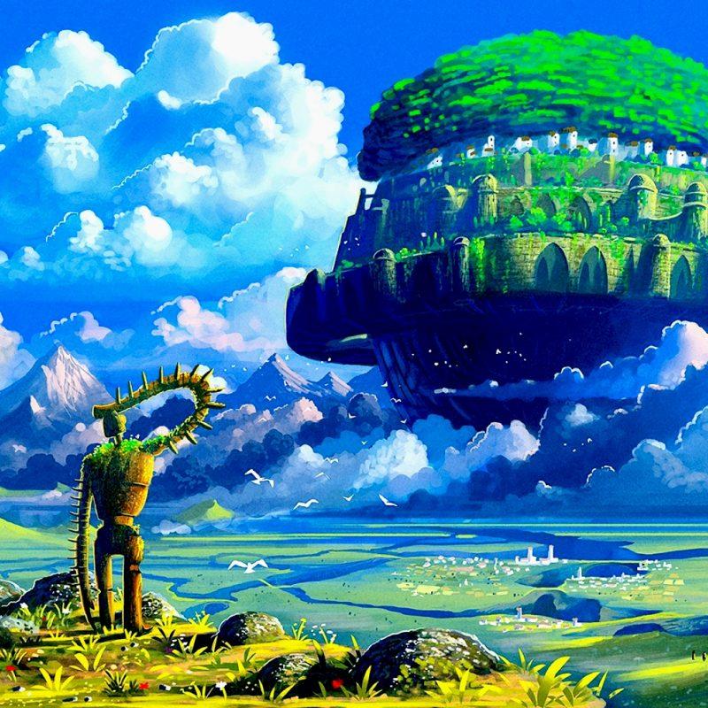 10 Top Castle In The Sky Wallpaper FULL HD 1920×1080 For PC Desktop 2021 free download laputa castle in the sky 1920x1080 wallpapers pinterest 800x800