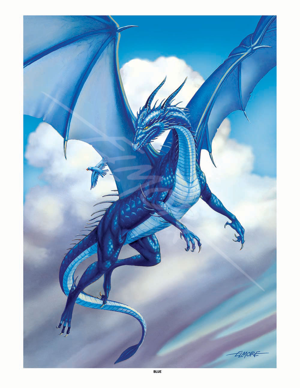 larry elmore · blue dragon