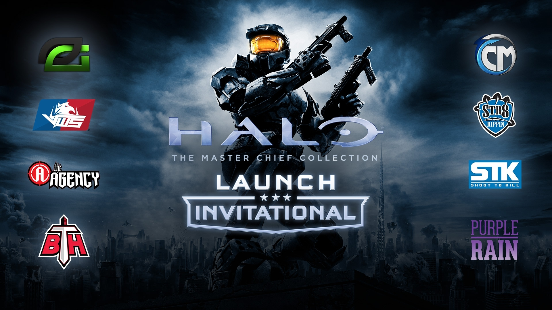 launch invitational wallpapers | halo: the master chief collection