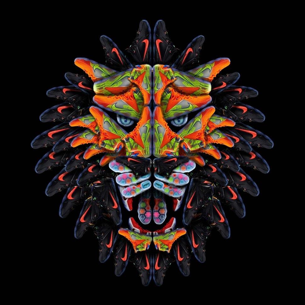 lebron 12 lion head - google search | futuristic shoes and socks