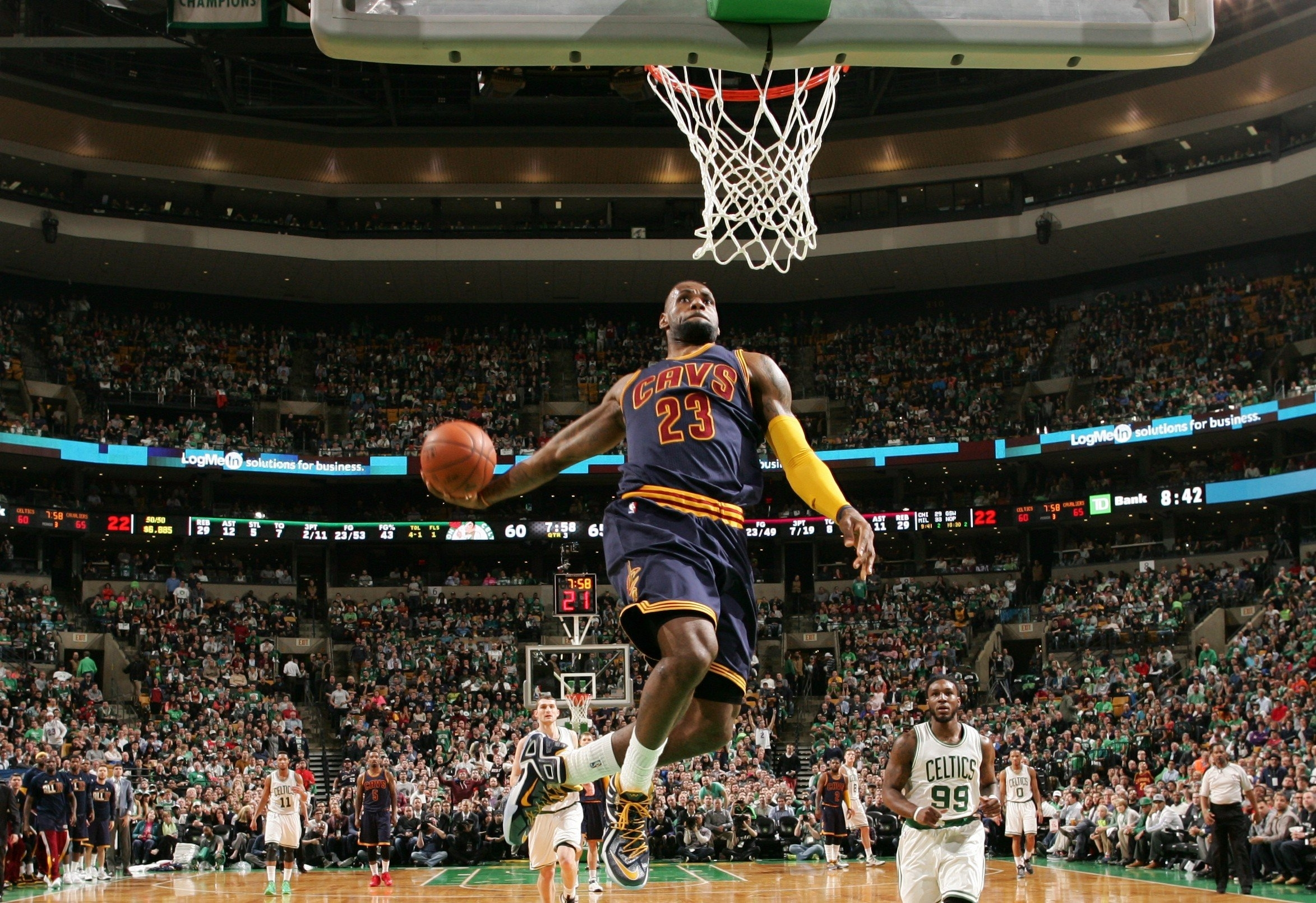 lebron james dunk wallpaper high definition ~ desktop wallpaper box