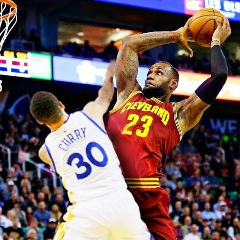 10 Most Popular Lebron James Dunking Pictures FULL HD 1920×1080 For PC Desktop 2021 free download lebron james dunks on stephen curry and crosses him over while 800x800